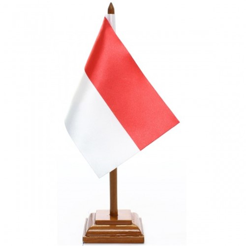Bandeira de Mesa Indonésia 6540PM