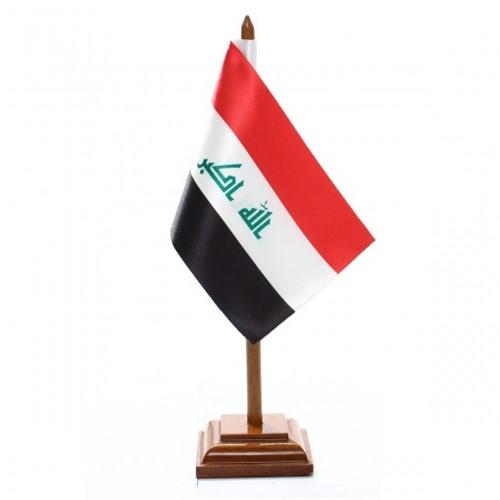 Bandeira de Mesa Iraque 6543PM