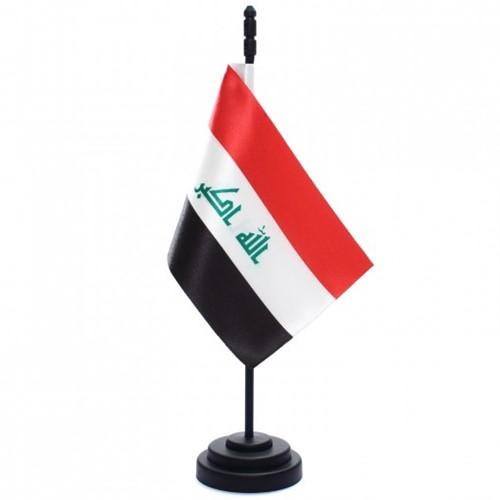 Bandeira de Mesa Iraque 6763PP