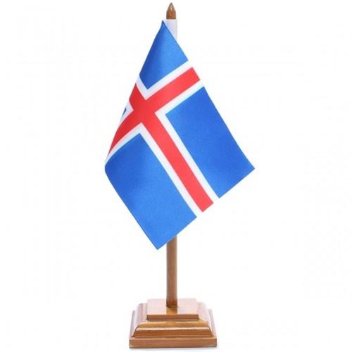 Bandeira de Mesa Islândia 6545PM
