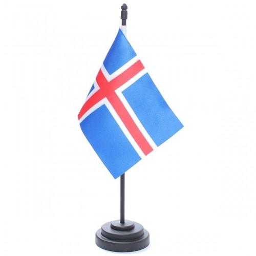 Bandeira de Mesa Islândia 6765PP
