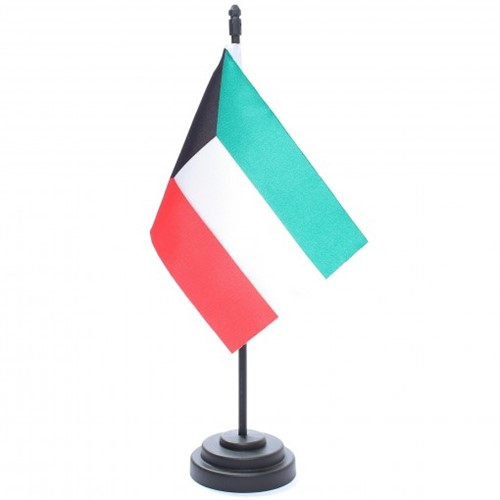 Bandeira de Mesa Kuwait 6772PP
