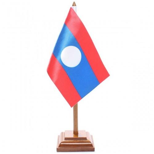 Bandeira de Mesa Laos 6553PM