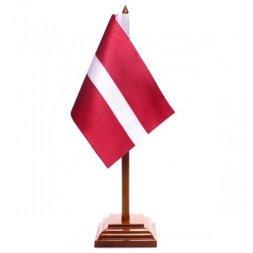 Bandeira de Mesa Letônia 6555PM