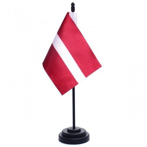 Bandeira de Mesa Letônia 6775PP