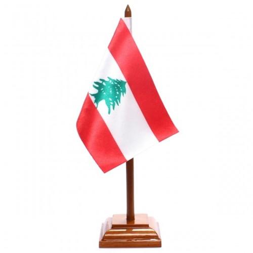 Bandeira de Mesa Líbano 6556PM
