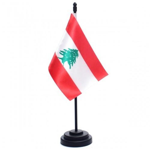 Bandeira de Mesa Líbano 6776PP