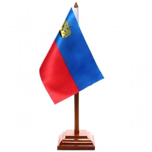 Bandeira de Mesa Liechtenstein 6559PM