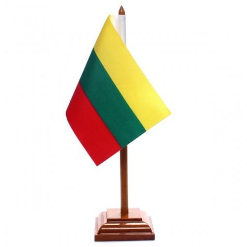 Bandeira de Mesa Lituânia 6560PM