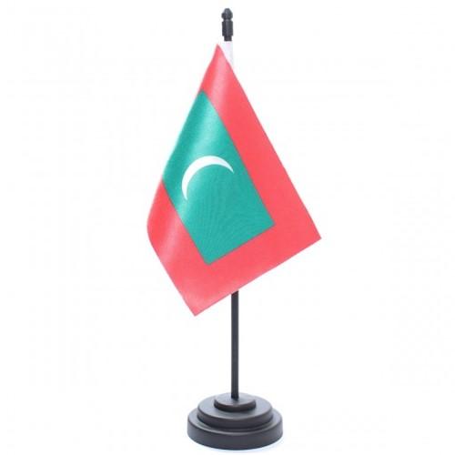 Bandeira de Mesa Maldivas 6786PP