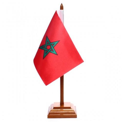 Bandeira de Mesa Marrocos 6568PM