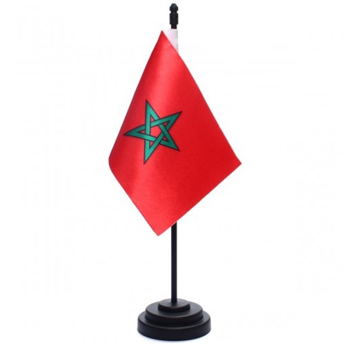 Bandeira de Mesa Marrocos 6788PP
