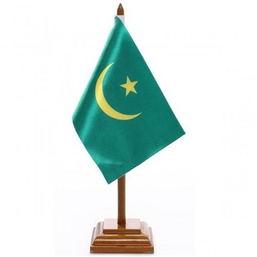 Bandeira de Mesa Mauritânia 6570PM