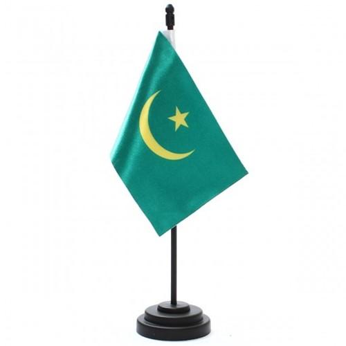 Bandeira de Mesa Mauritânia 6790PP