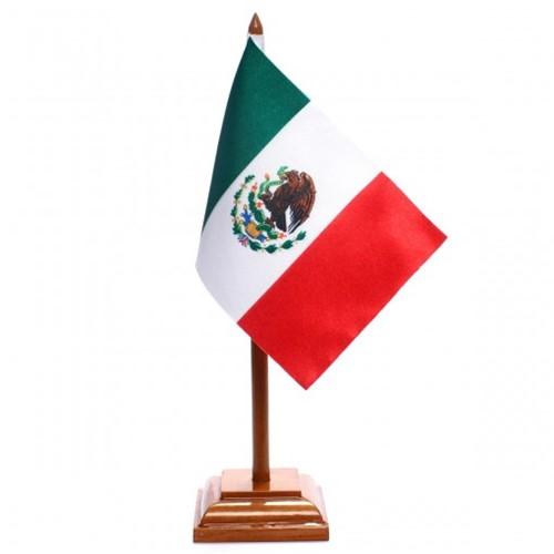 Bandeira de Mesa México 6571PM