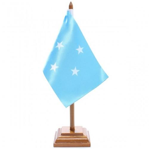 Bandeira de Mesa Micronésia 6573PM