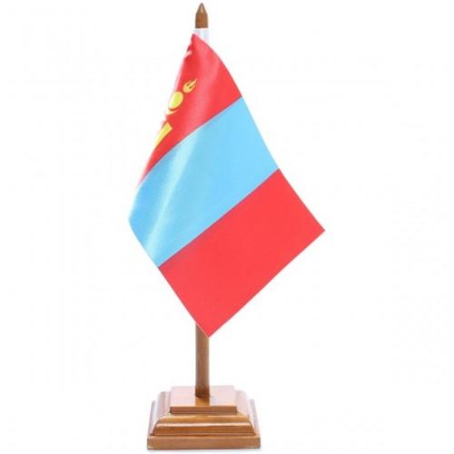 Bandeira de Mesa Mongólia 6576PM
