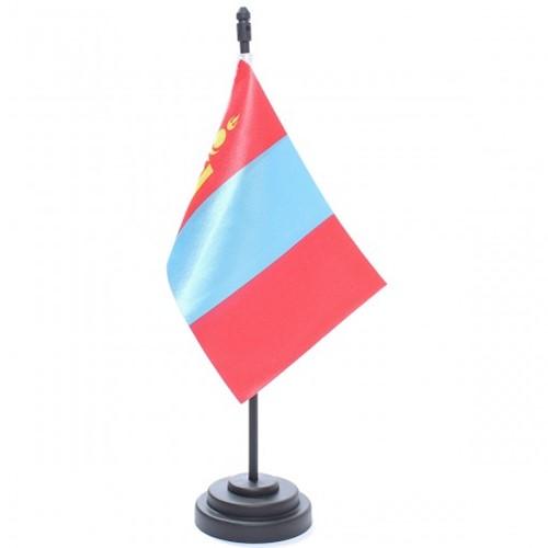 Bandeira de Mesa Mongólia 6796PP