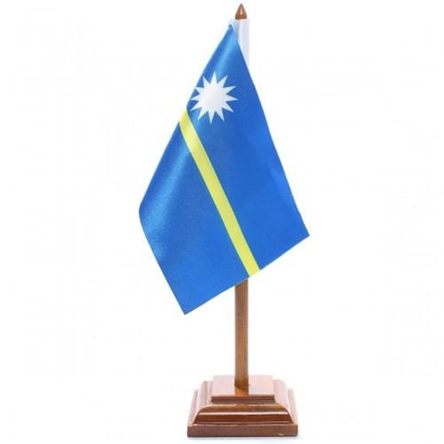 Bandeira de Mesa Nauru 6579PM
