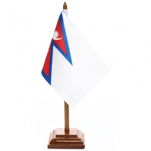 Bandeira de Mesa Nepal 6580PM