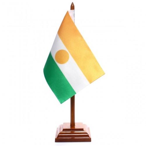Bandeira de Mesa Níger 6582PM