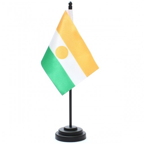 Bandeira de Mesa Níger 6802PP