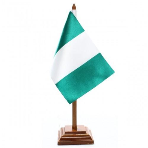 Bandeira de Mesa Nigéria 6583PM