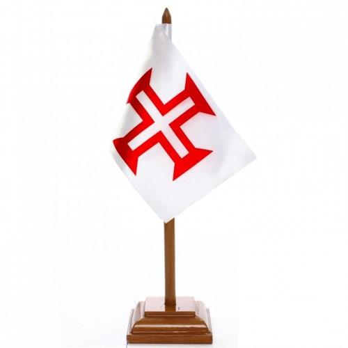 Bandeira de Mesa Ordem de Cristo 6414PM