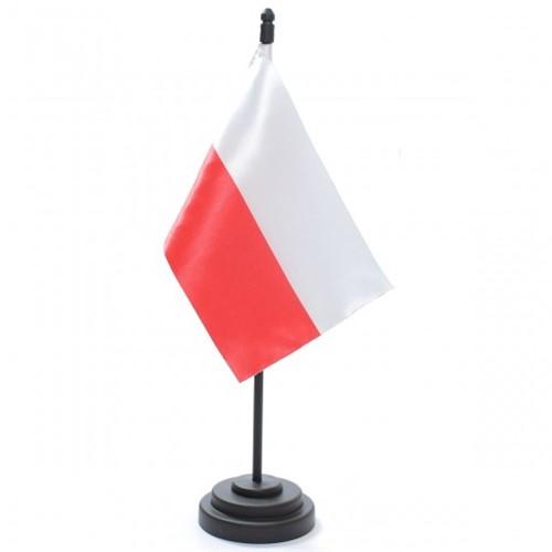 Bandeira de Mesa Polônia 6814PP