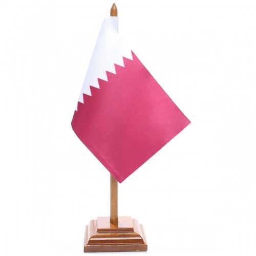 Bandeira de Mesa Qatar 6597PM