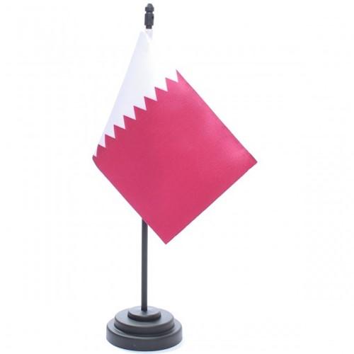 Bandeira de Mesa Qatar 6817PP