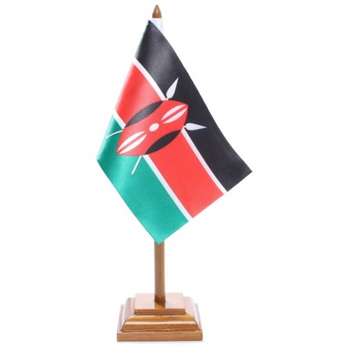 Bandeira de Mesa Quênia 6598PM