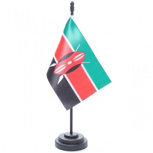 Bandeira de Mesa Quênia 6818PP