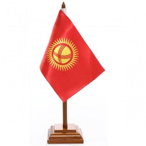 Bandeira de Mesa Quirguistão 6599PM