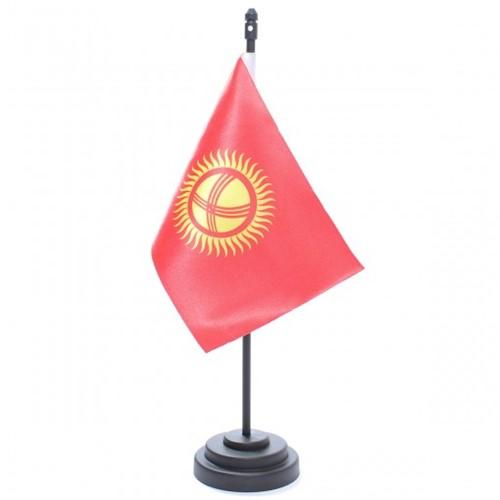 Bandeira de Mesa Quirguistão 6819PP