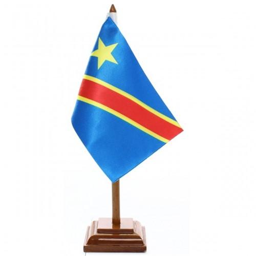 Bandeira de Mesa Rep. Democrata do Congo 6601PM