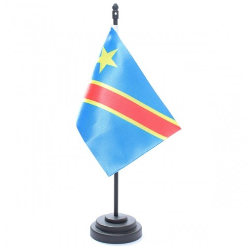 Bandeira de Mesa Rep. Democrata do Congo 6821PP