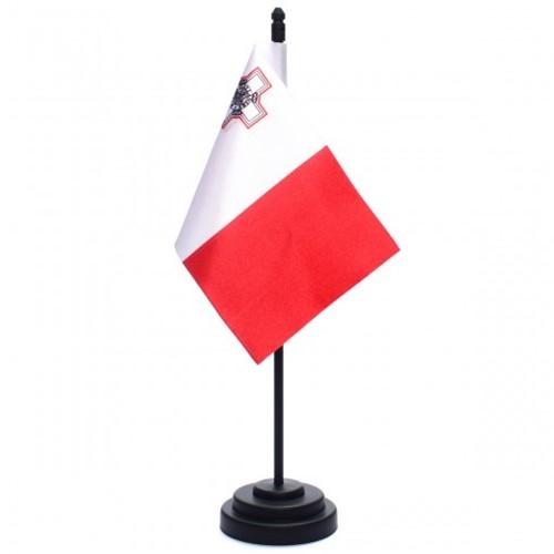 Bandeira de Mesa República de Malta 6824PP