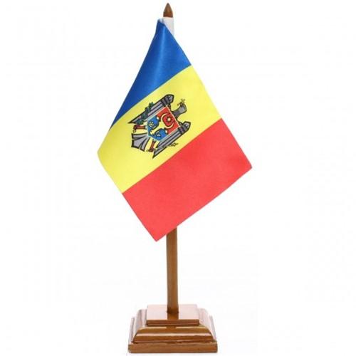 Bandeira de Mesa República de Moldávia 6605PM
