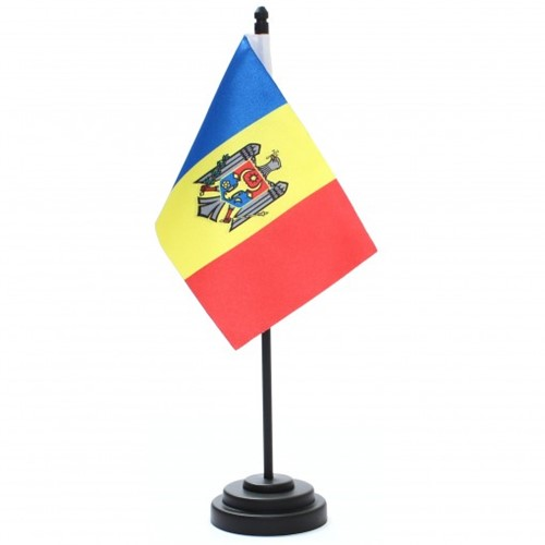 Bandeira de Mesa República de Moldávia 6825PP