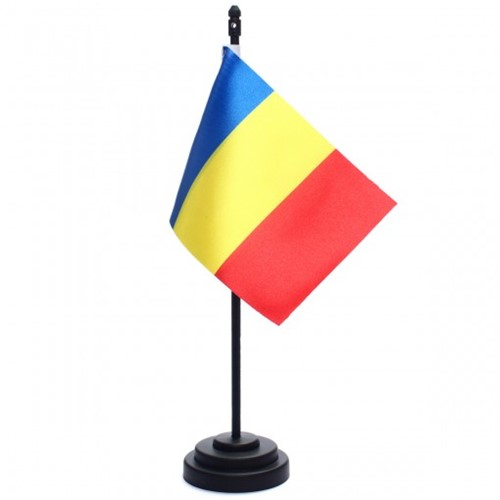 Bandeira de Mesa Romênia 6827PP
