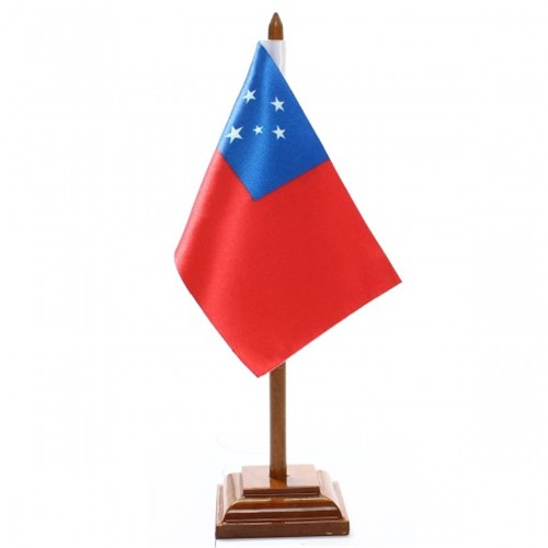 Bandeira de Mesa Samoa 6610PM