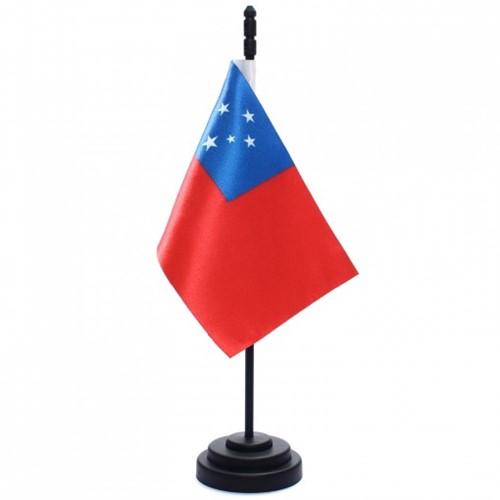 Bandeira de Mesa Samoa 6830PP