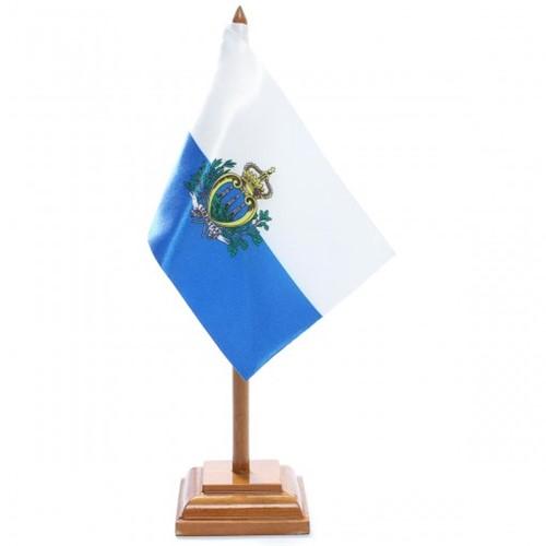 Bandeira de Mesa San Marino 6612PM