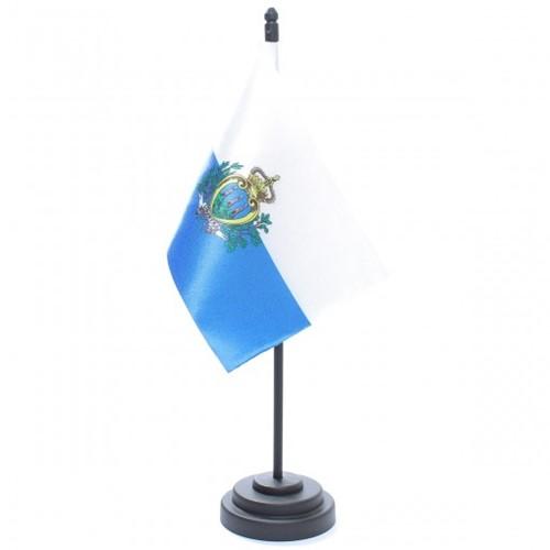 Bandeira de Mesa San Marino 6832PP