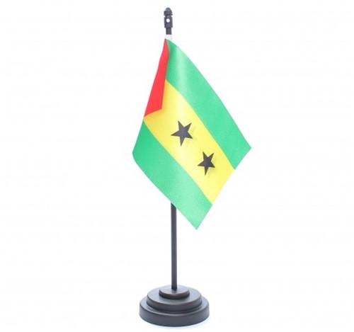 Bandeira de Mesa São Tomé e Príncipe 6836PP