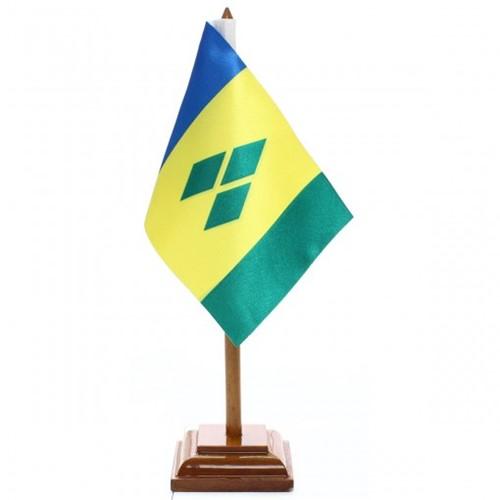Bandeira de Mesa São Vicente de Granadinas 6617PM