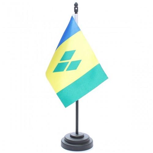 Bandeira de Mesa São Vicente de Granadinas 6837PP