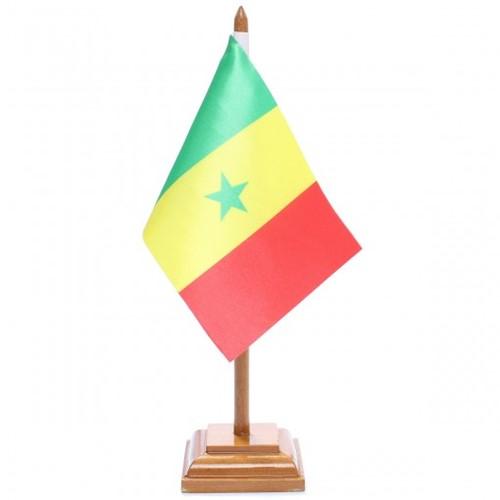 Bandeira de Mesa Senegal 6618PM