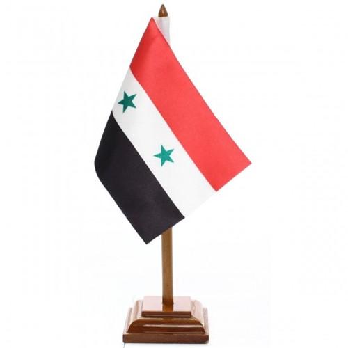 Bandeira de Mesa Síria 6622PM